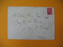 Lettre De La Réunion CFA  1974  N° 393  Marianne De Béquet De Bois-de-Nefles Saint Paul Pour La France - Reunion Island (1852-1975)