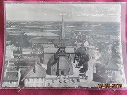 """CPSM GF - Ploudalmézeau - Eglise St-Pierre - """"En Avion Au-dessus De..."""" - Ploudalmézeau"""