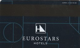 SPAIN. HOTEL KEY CARD. EUROSTARS HOTELS. ESP-11499. (BARCELONA) 022. - Cartas De Hotels