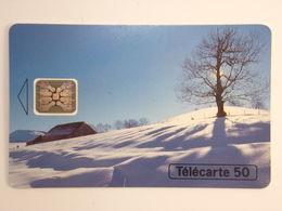 Télécarte - Les Saisons, L'Hiver - 400000 Exemplaires - 1994 - Landscapes