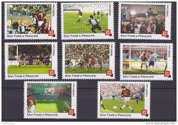 Sao Tome & Principe 2004 Fussball Soccer Football Champions League 2003 AC Milan - Juventus Torino Mnh - Club Mitici