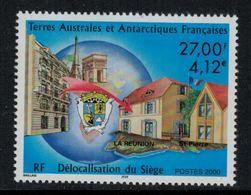 T.A.A.F. // 2000 //  No.286 Y&T Neuf**  Délocalisation Du Siège - Neufs