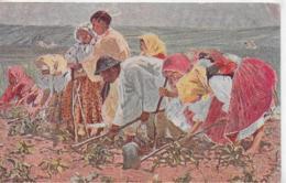 AK 0258  Joza Uprka - Na Ripe / Künstlerkarte ( Tschechien , Feldarbeit ) Um 1920 - Costumes