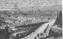 AK 0258  Firenze - Panorama Um 1905 - Firenze (Florence)