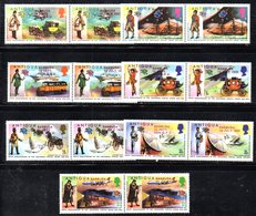 BIG - BARBUDA 1974 , La Serie Integra Yvert 147/160 ***  MNH  (2380A)  UPU - Barbuda (...-1981)