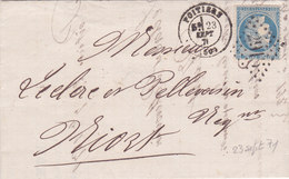 723 -  CERES 60 -  POITIERS  A  NIORT - Postmark Collection (Covers)