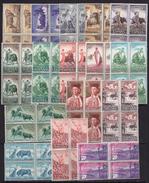 España 1960. Toros Bloque De 4. Ed 1254 / 1269. MNH. **. - 1951-60 Nuevos & Fijasellos