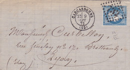 724 -  CERES 60 -  CARCASSONNE  A  LYON - Postmark Collection (Covers)