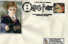 USA:Harry Potter, Lettre D'Universal Studios Resort. Florida., Belle Lettre - Acteurs