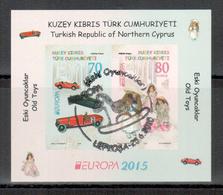 Türkisch-Zypern / Turkish Republic Of Northern Cyprus / Chypre Turc 2015 Block EUROPA Gestempelt/used - Europa-CEPT