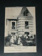 COLOMBES    / 1910 /    VUE  VILLA ELECTRIQUE NOCE ARGENT    ....   / CIRC /  EDITION - Colombes
