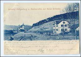 U5736/ Bahnhof Heiligenberg Restauration Zur Ruine Girbaden 1899 AK - Elsass