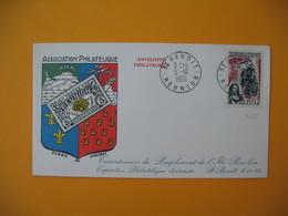 Lettre De La Réunion CFA  1965  N° 365 Tricentenaire Du Peuplement De L'Ile Bourbon Saint Benoit - Reunion Island (1852-1975)
