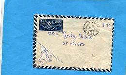 Marcophilie-guerre D'indochine-lettre F M Cad Poste Aux Armées-SP 57518pour SP62673 - Marcophilie (Lettres)