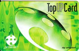 SINGAPORE - Top Up, SingTel Prepaid Card $50, Exp.date 07/07/03, Used - Singapore