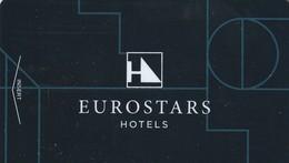 SPAIN. HOTEL KEY CARD. EUROSTARS HOTELS. ESP-12828. (023). - Cartas De Hotels