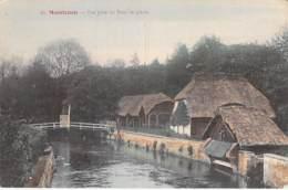 28 - MAINTENON : Vue Prise Du Pont De Pierre - Jolie CPA Colorisée - Eure Et Loir - Maintenon