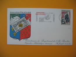 Lettre De La Réunion CFA  1965  N° 365 Tricentenaire Du Peuplement De L'Ile Bourbon Saint Denis - Reunion Island (1852-1975)