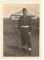 VIEILLE ET VERITABLE PHOTO DENTELEE UN SOLDAT MILITAIRE DU 42e Régiment Territorial  1e Compagnie SP 54381  A IDENTIFIER - Lieux