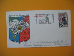 Lettre De La Réunion CFA  1965  N° 365 Tricentenaire Du Peuplement De L'Ile Bourbon Saint Pierre - Reunion Island (1852-1975)