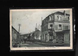 C.P.A. DE LA RUE DE LA HOUVE A CREUTZWALD.LA.CROIX 57. - Creutzwald