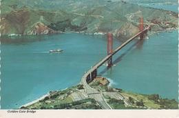 AK San Francisco Golden Gate Bridge Freeway Toll Plaza Presidio  Aerial View CA California Kalifornien United States USA - San Francisco