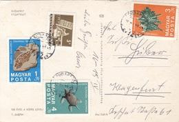 UNGARN 1970 - 4 Sondermarken Auf Mehrbilderkarte BUDAPEST - Ungarn
