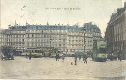 CPA Paris Place De Rennes - Arrondissement: 06