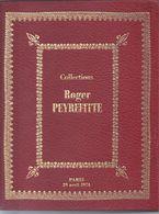 Catalogue De Vente Monnaies De Collection Roger Peyrefitte 1974 - Livres & Logiciels