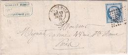 737 -  CERES 60 -   LA FERTE MACE  A  PARIS - Postmark Collection (Covers)