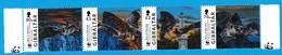 Gibraltar 2017 - Faune WWF - CHAUVE-SOURIS - BATS - Serie Neuf - MNH - Chauve-souris