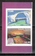 Grönland / Greenland / Groenland 2018 Satz Aus MH/set From Booklet EUROPA ** - 2018