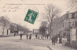 LA ROCHE SUR YON - L'Avenue Gambetta Vue De La Gare - La Roche Sur Yon