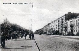 POLSKA - POLAND - POLOGNE - WARSZAWA - WARSAW - ALEJA 3 GO MAJA (1) - Polonia