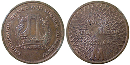 00258 GETTONE TOKEN JETON TRASPORTI TRASPORTATION TRAMWAYS NEW YORK MANAHATTAN, 1982 - Unclassified