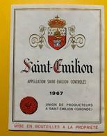 10566   Saint-Emilion Union Des Producteurs 1967 - Bordeaux