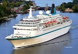 """Ship Postcards - Passenger   Ship """"  Albatros """"    Read Description - Ships"""