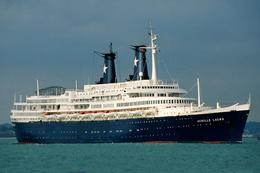 """Ship Postcards - Passenger Ship : """" Achille Lauro """"  Read Description - Ships"""
