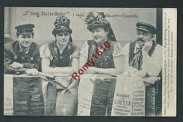 """Très Belle Carte Allemande """"D'orig. Elsterthaler"""" I. Vogil Bauern-Ensemble. Rare - Costumes"""
