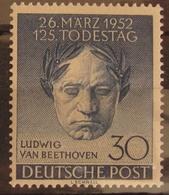 Berlin Beethoven Plattenfehler I, Mi. 87I ** MNH, Value 120,- - Berlin (West)