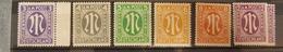Germany AM Post British Print, Mi 10-15, ** MNH, Value 3,- - Bizone
