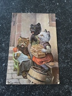Arthur Thiele // Humanised Cats Used In NL 1925 - Thiele, Arthur