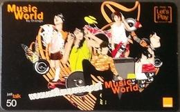 Mobilecard Thailand - Orange  - Musik World - Thaïland