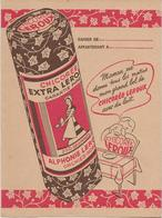 """PROTEGE - CAHIER  PUBLICITAIRE  """" CHICOREE LEROUX """" - Koffie En Thee"""
