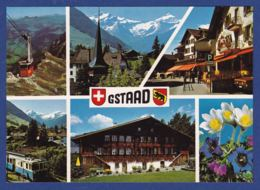 Gstaad Mit Bahn Und Seilbahn (br7137) - BE Berne