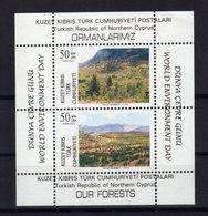 CHYPRE TURC Turkish Cyprus  1996 Environnement Yv Bl 15 MNH ** - Cyprus (Turkey)