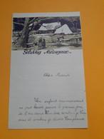 Nieuwjaarsbrief - Lettre De Nouvel An - 1946 - Announcements