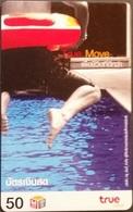 Mobilecard Thailand - True Move -  Sport - Schwimmen - Thaïland