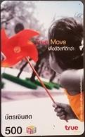 Mobilecard Thailand - True Move - Kind,child - Windmühle - Thaïland