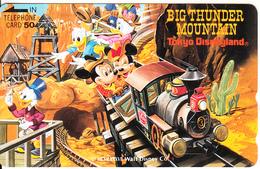 JAPAN - Big Thunder Mountain/Tokyo Disneyland(110-52330), Used - Disney
